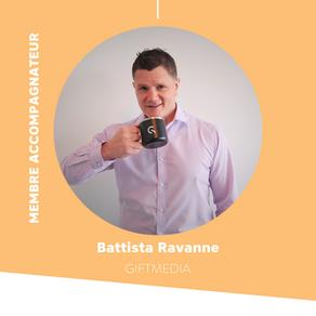 Battista Ravanne, nouveau membre accompagnateur