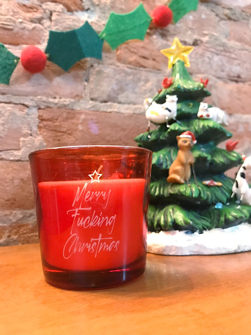 Merry F*!#ing Christmas [candle]