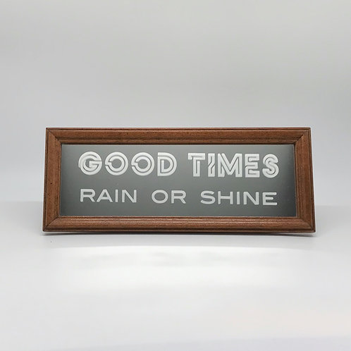 Good Times [wood]