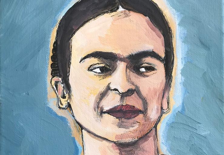 Frida, 2015, 8x10