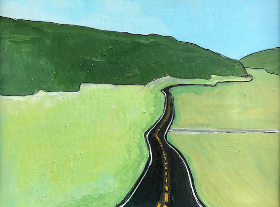 The Road, 2017, 10.5x10.5