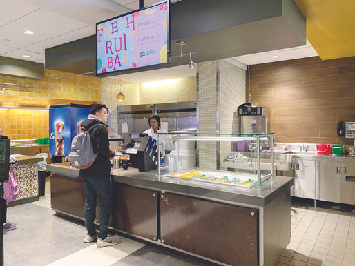 Fresh Fruit Bar Replaces Guacamole Stand in Campus Center