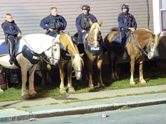 The Four Horses of Hudson Ave.