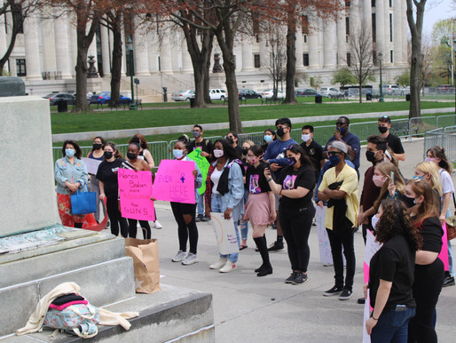 SUNY Student Assembly Holds First Women's March