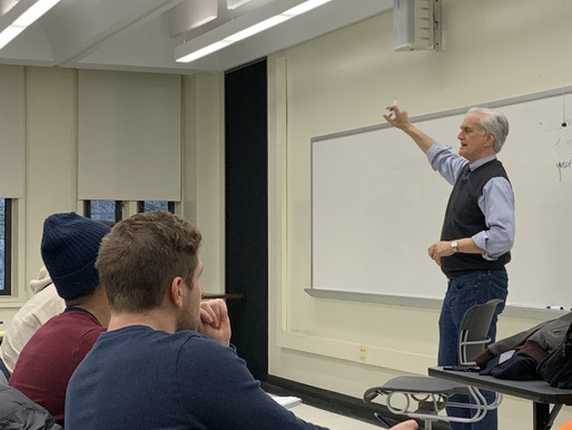 Report The Truth: Rex Smith Visits UAlbany Journalism Class