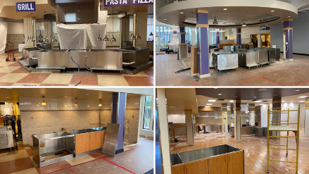 Univeristy Campus Dining Plans for Fall Semester