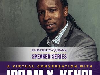 Former UAlbany Professor Ibram X. Kendi Featured as Speaker Series Guest