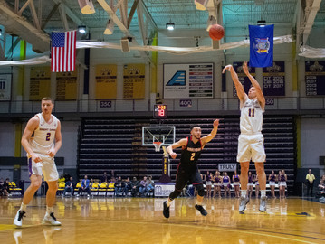 Great Danes Unable to Contain Ellison, Fall to Hawks