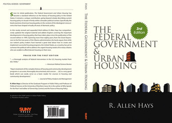 The Federal Government & Urban Housing