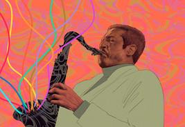 Jazz saxophonist Billy Harper