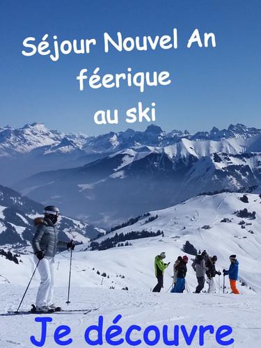 Nouvel An féerique au ski en Haute-Savoie
