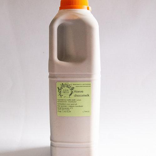 Hoeve chocomelk 1L