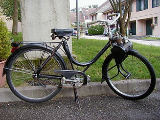 1951 Solex 45 cc with 600 wheels
