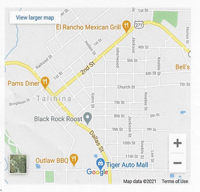 Talihina Street map.jpg