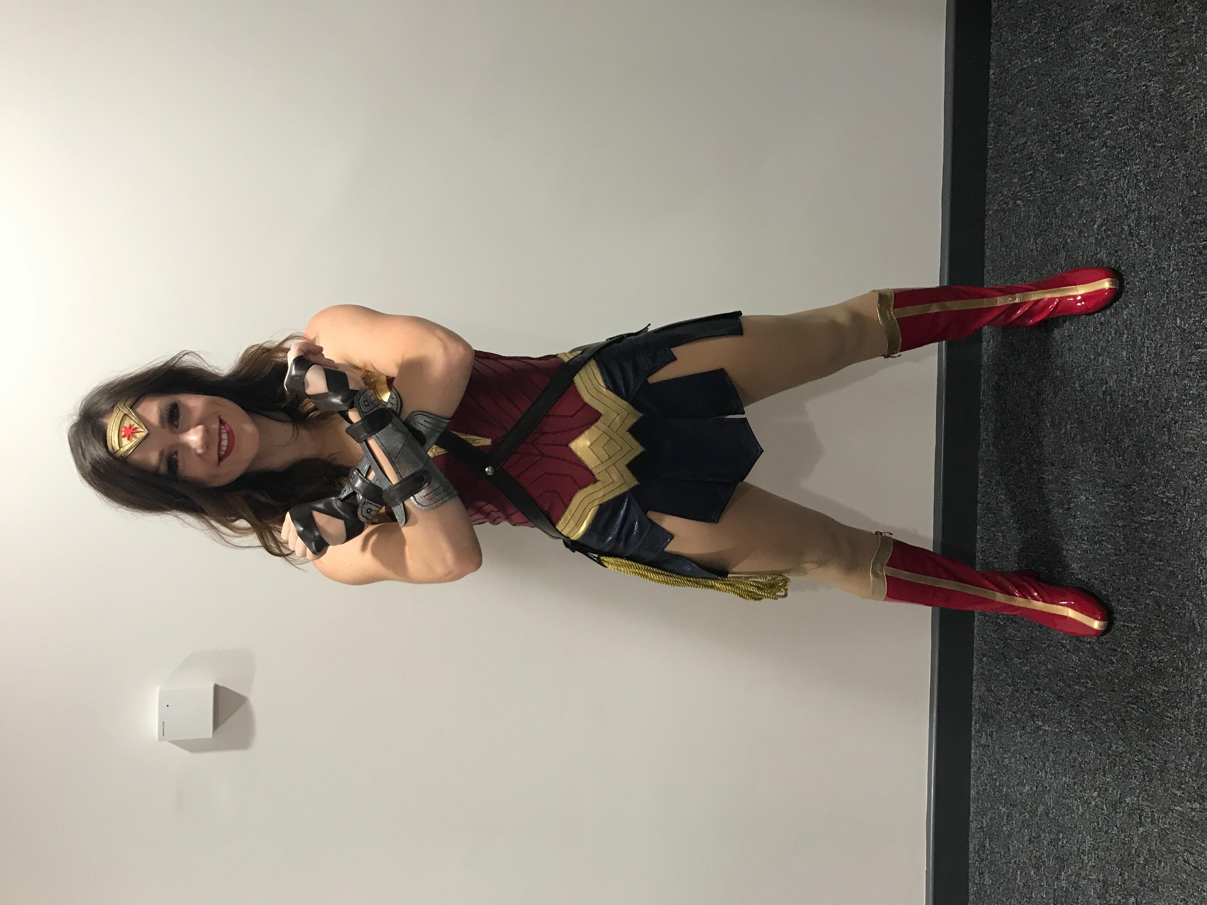 Wonder Woman SKP fete