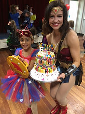 Wonder woman birthday parties
