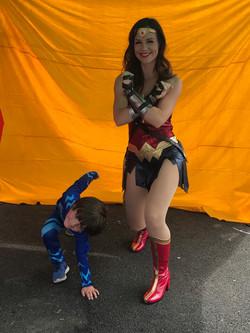 Wonder Woman n Cat Boy