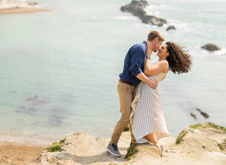 A Jurassic Coast Engagement Session