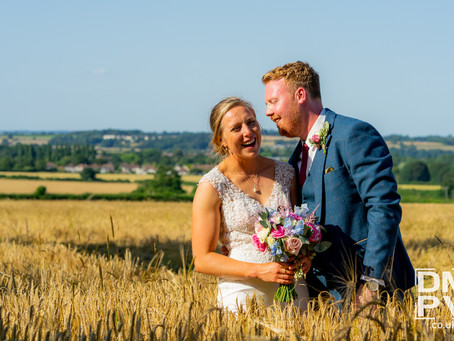 Becky and Paul's Wedding at Manor Farm!