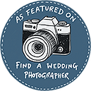 """<p><a title=""""Wedding Photographers"""" href=""""https://www.findaweddingphotographer.co.uk/"""" target=""""_blank"""" ><img title=""""Wedding Photographers"""" src=""""https://www.findaweddingphotographer.co.uk/images/find_wedding_photographer_badge.png"""" alt=""""Find a Wedding Photographer Featured Badge"""" width=""""150"""" height=""""150"""" /></a></p>"""