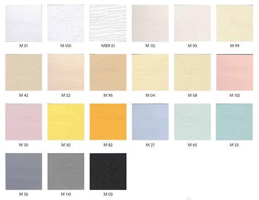 Matt Stretch ceiling colours