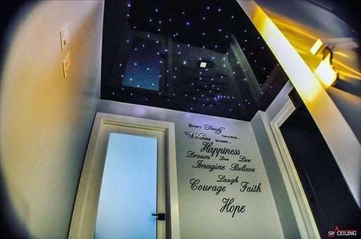 Galaxy stretch ceiling SpaCeiling