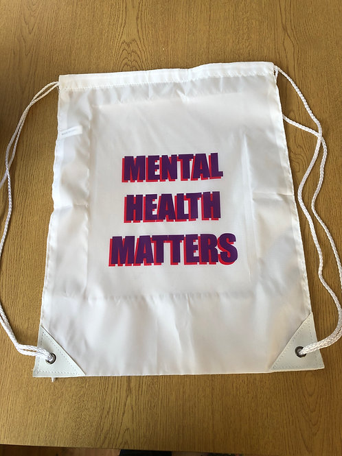 Mental Health Matters Gym bag