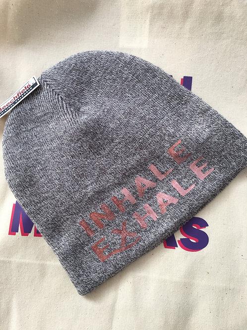 Motivational Light Grey Bennie Hat