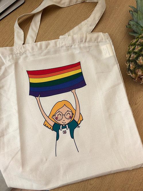 Gay Fem tote bag