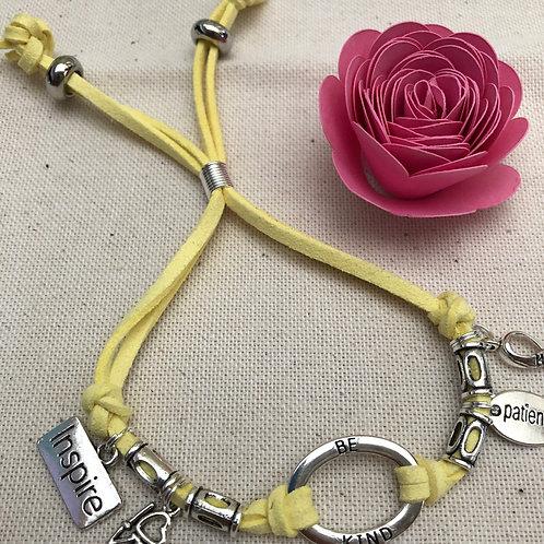 Be Kind Charm+  Mental Health Awareness Bracelet