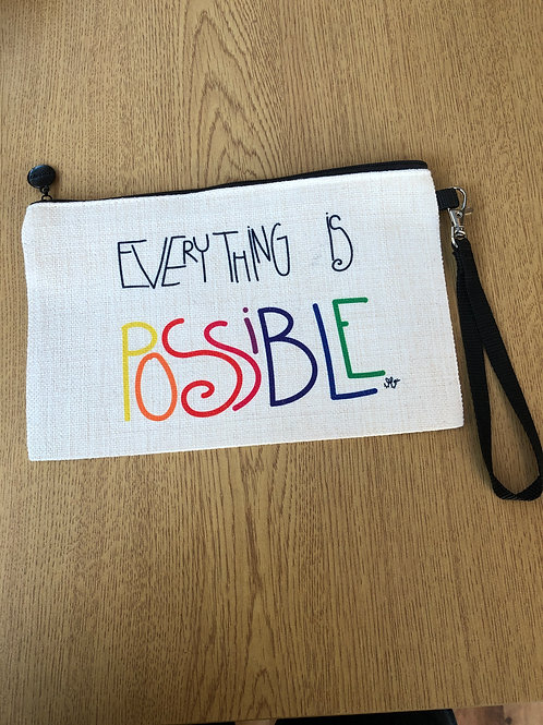 Everything Is Possible Cosmetic purse