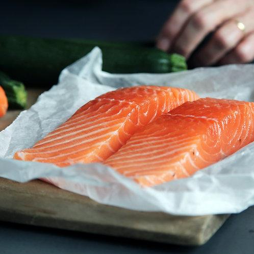Small Scottish Salmon Portion (Skinned)