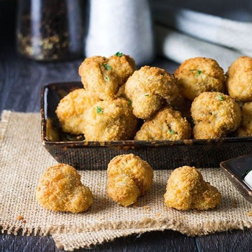 Garlic Breaded Mushrooms