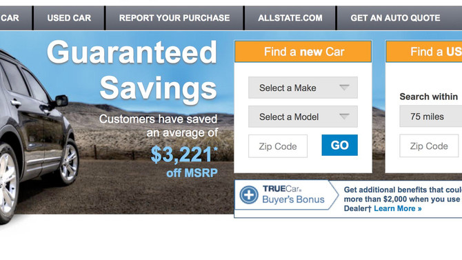 Looking for a new/used car? TrueCar makes it Safe & Painless