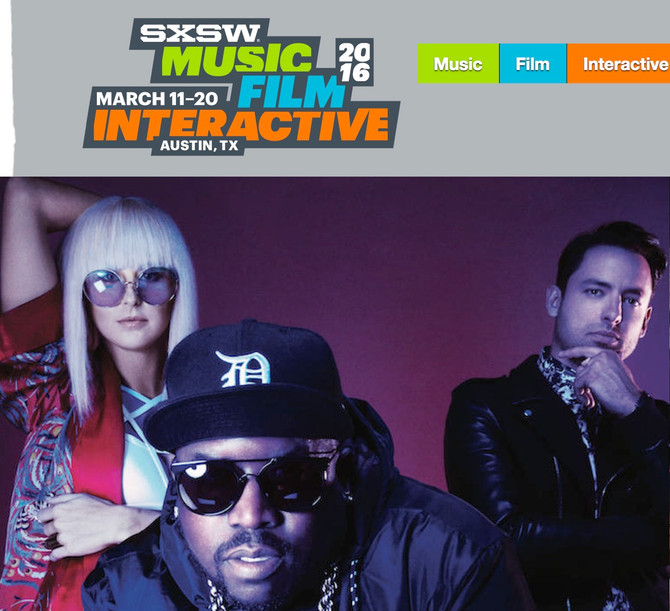 REMINDER: SXSW is March 11 - 20th