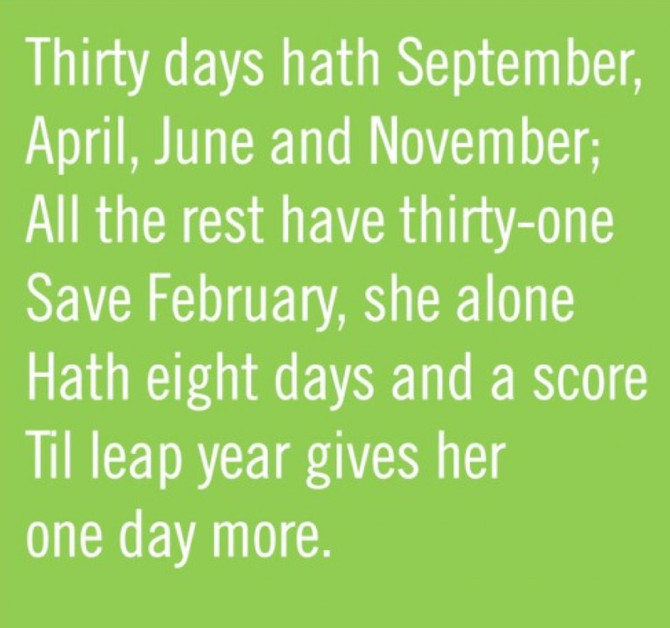 Happy Leap Year!!