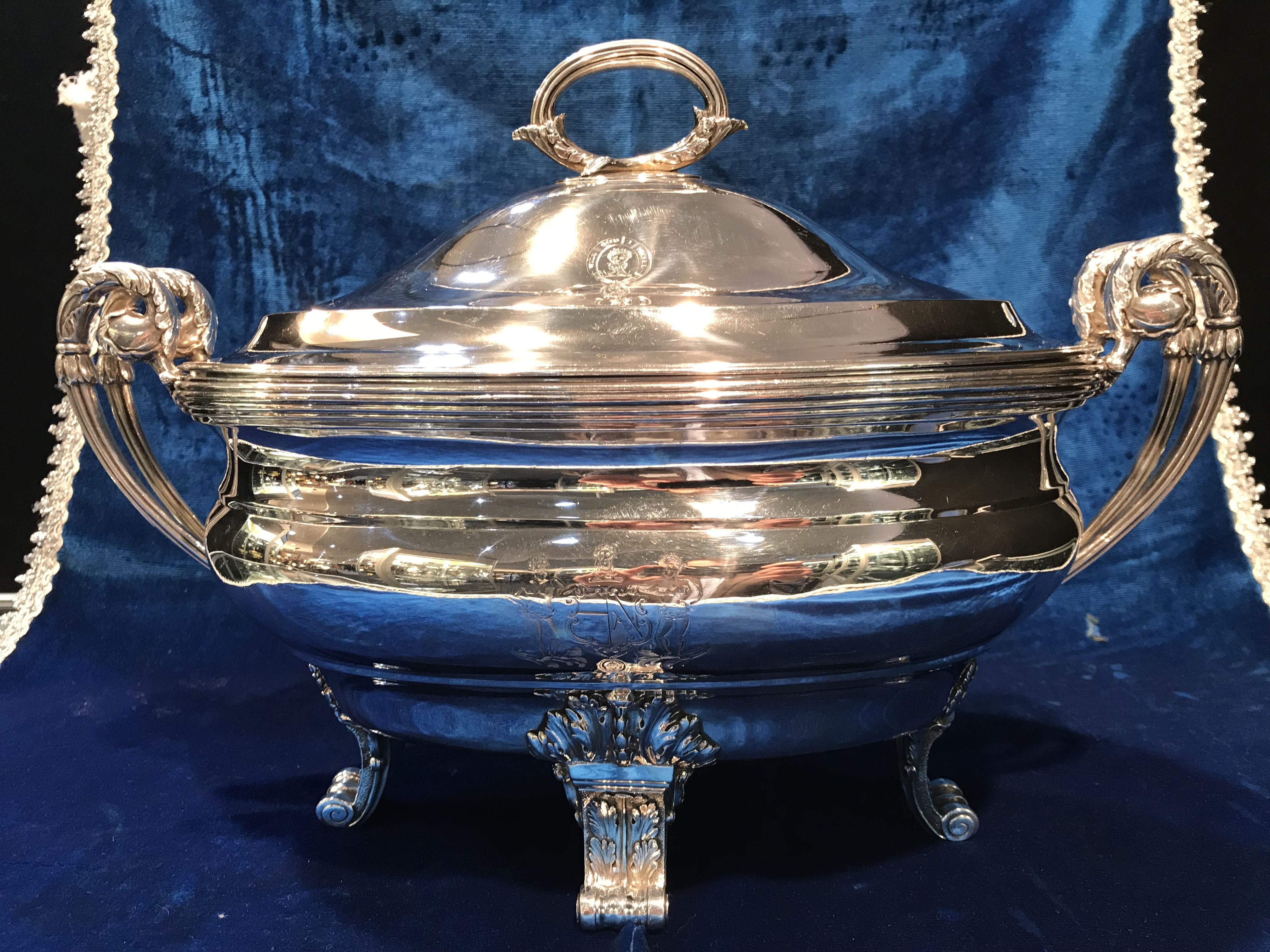 Fine Regency Soup Tureen