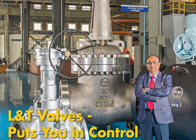 L&T Valves - Valve World Cover - July 20