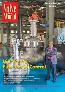 L&T Valves - Valve World Cover - July 20