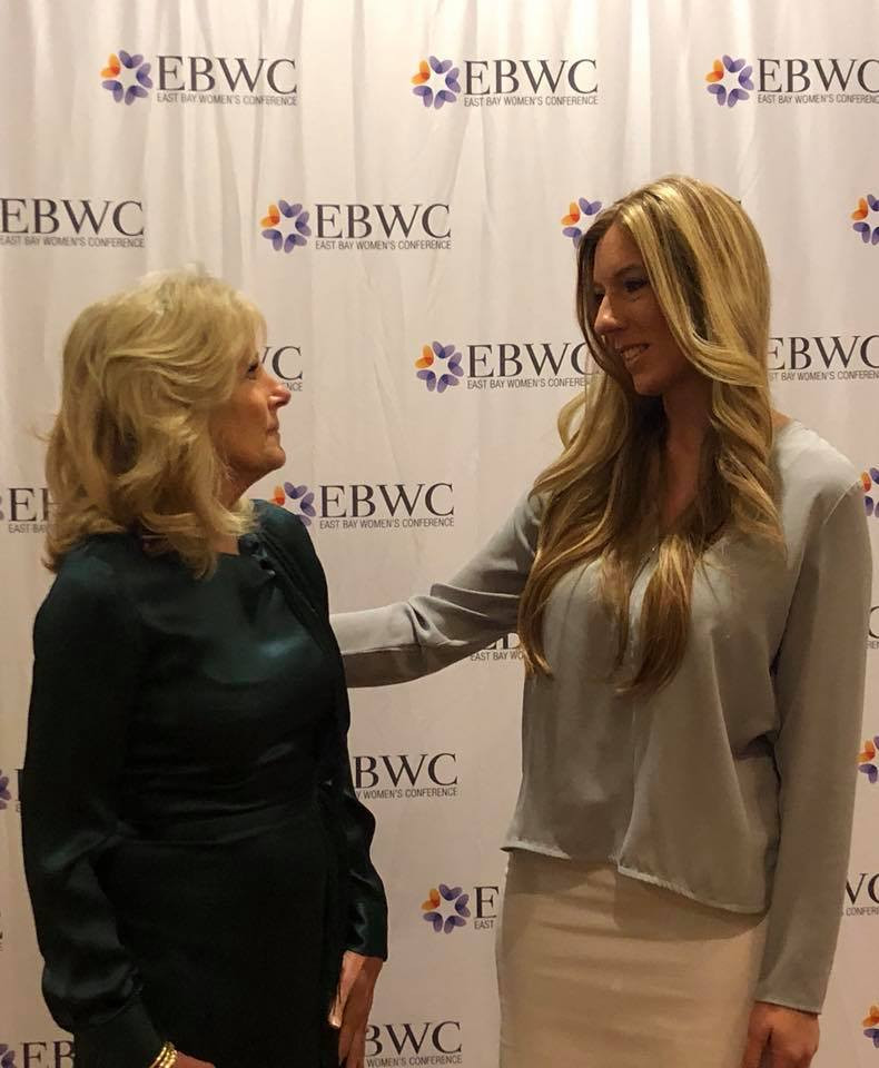 Dr. Jill Biden and Lisa Malia Norman