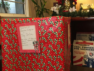 Toy Drive to Benefit Camp Pendleton Families
