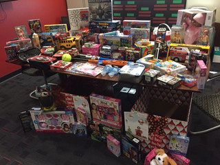 The Marine Corps Toy Drive Was a Huge Success!