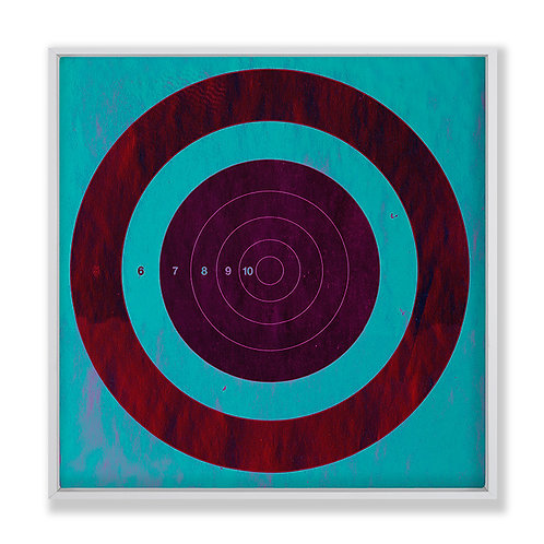 Target Blue Magenta