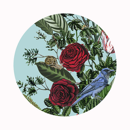 Bird Garden Plate 3
