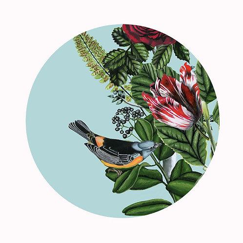 Bird Garden Plate 4