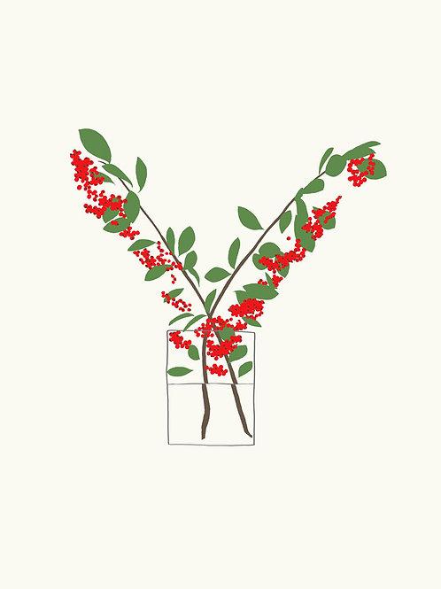 Berries In Vase