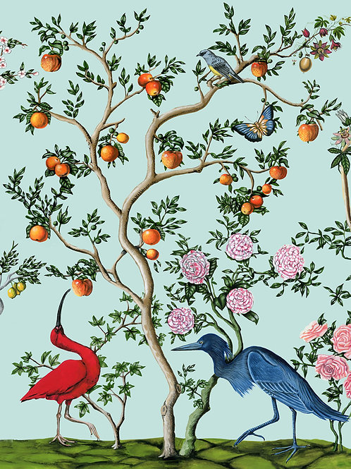 Bird and Branch Chinois 1