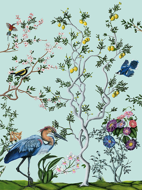 Bird and Branch Chinois 3