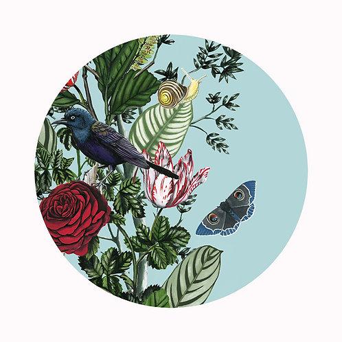 Bird Garden Plate 2