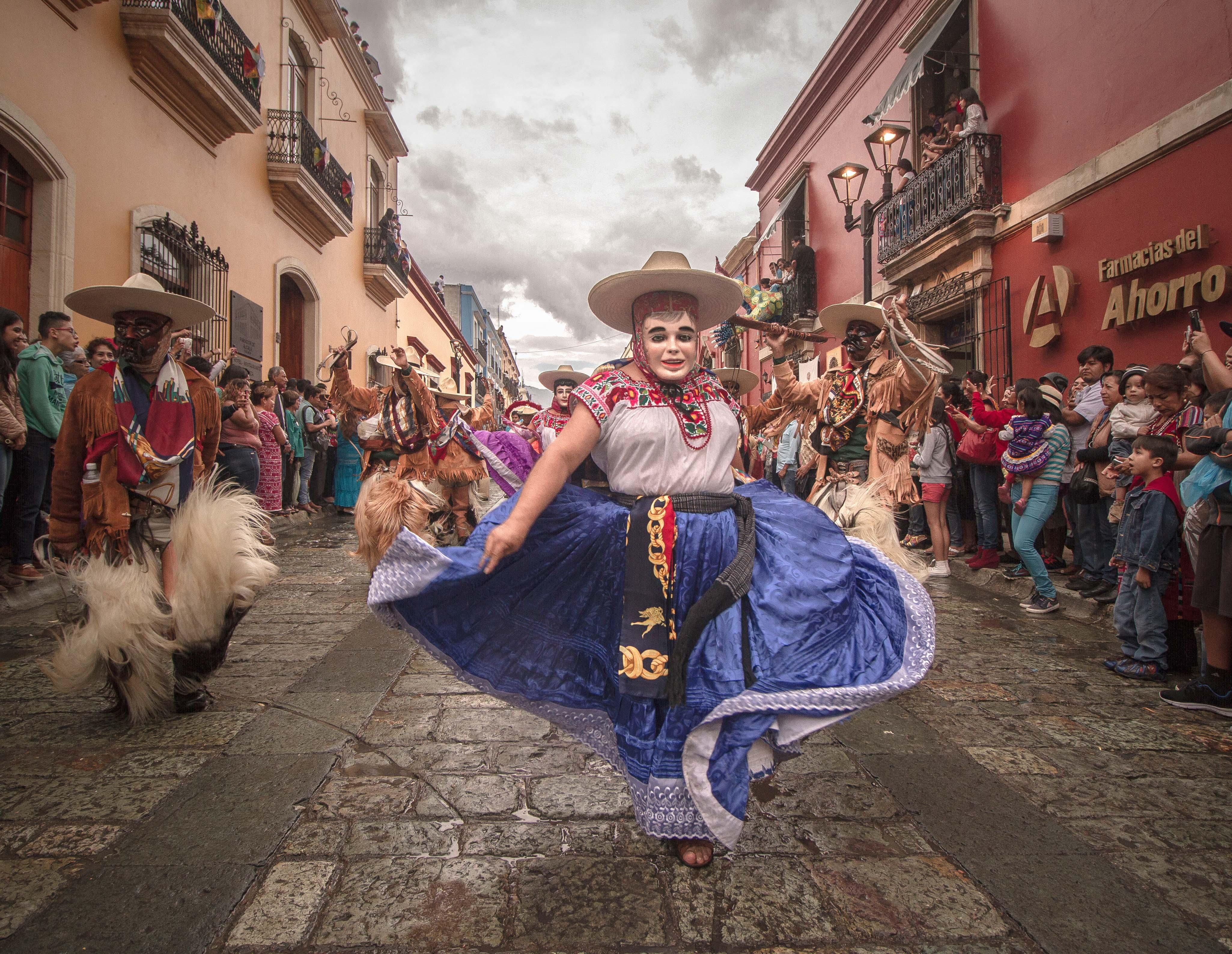 Calenda en Oaxaca